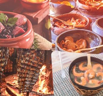 4 destinos para turistar e curtir a gastronomia pelo Brasil